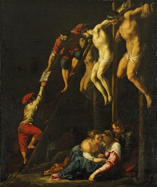 Crucifixion (c. 1612) by Pedro Orrente (1580–1645)