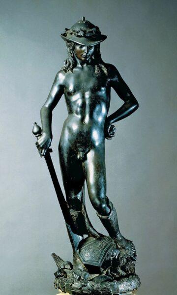 David (1430-1440) by Donatello (c.1386-1466)use