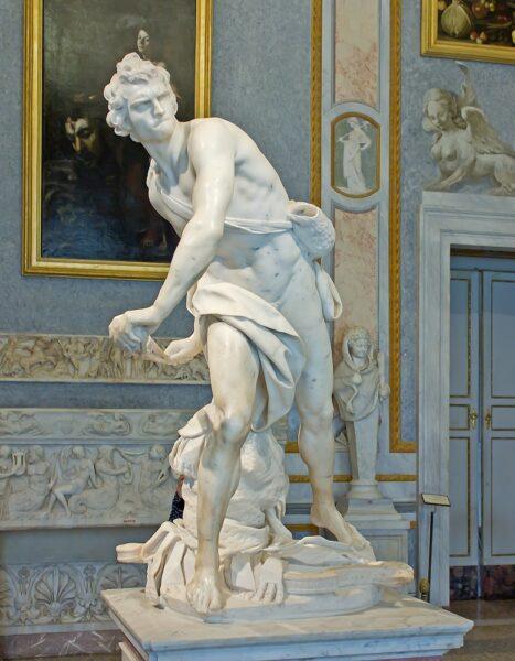 David (1623-24) by Bernini (1598-1680)
