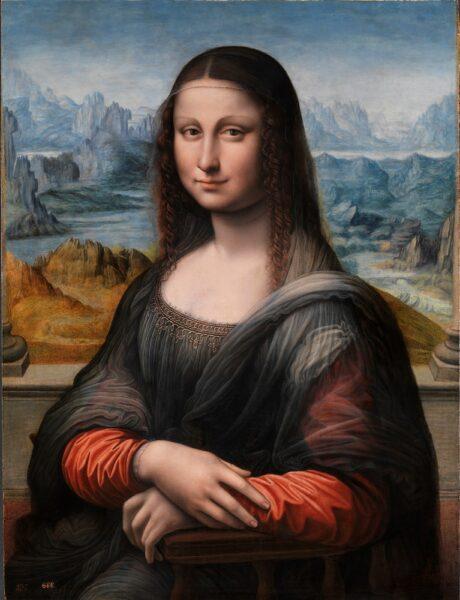 Mona Lisa Gioconda (copy from the Museum of Prado, Spain)