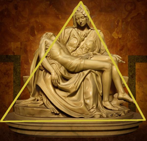 Pieta by Michelangelo Edited