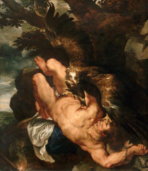 Prometheus Bound (1612) by Peter Paul Rubens (1577-1640)use