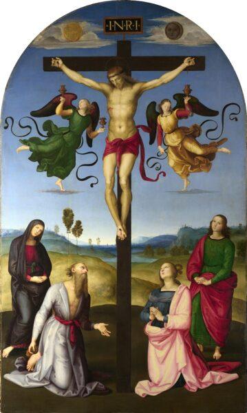 The Mond Crucifixion (1502–3) Raphael (1485-1520) use