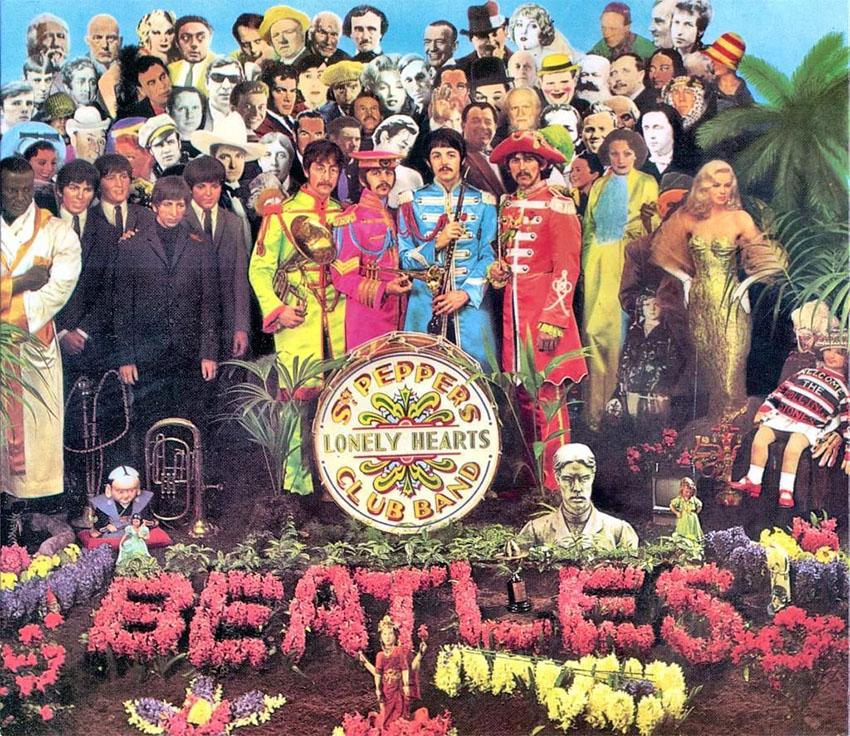 Sgt Pepper Album Cover Art