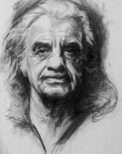 Jean Paul Belmondo by Mary Walsh